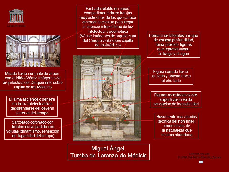 Tumba de Lorenzo de Médicis