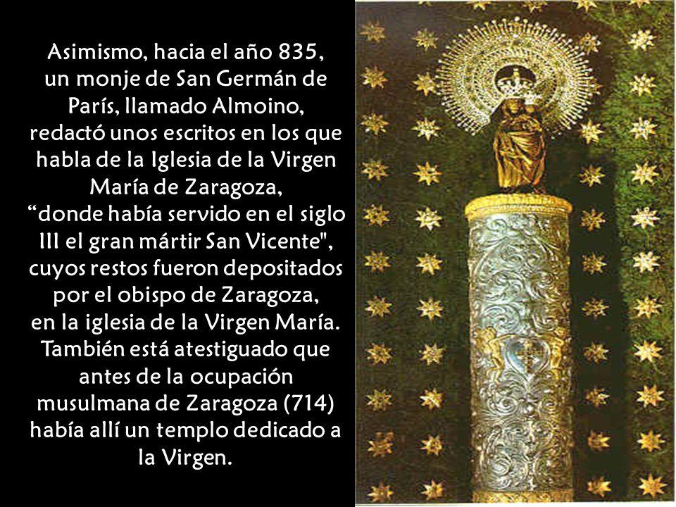 un monje de San Germán de París, llamado Almoino,