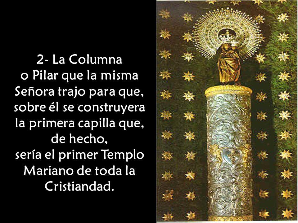 sería el primer Templo Mariano de toda la Cristiandad.