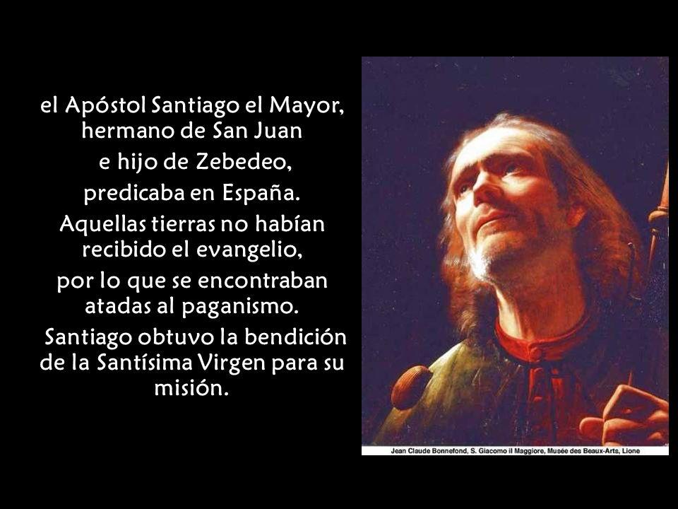 el Apóstol Santiago el Mayor, hermano de San Juan e hijo de Zebedeo,