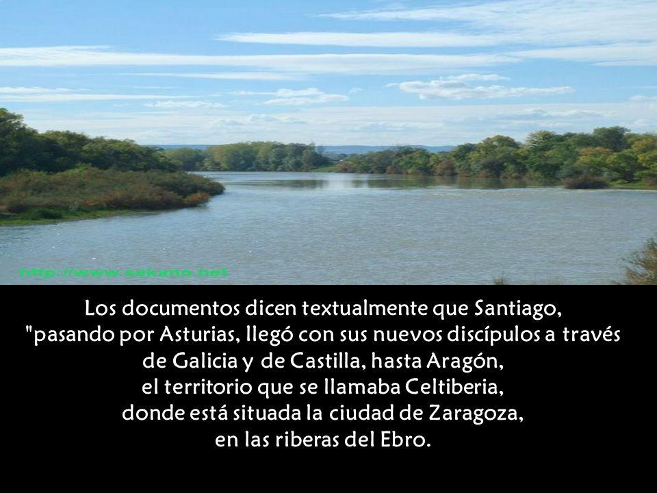 Los documentos dicen textualmente que Santiago,
