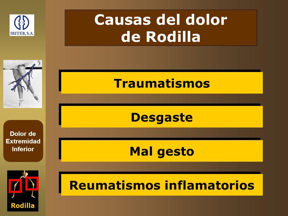 Reumatismos inflamatorios