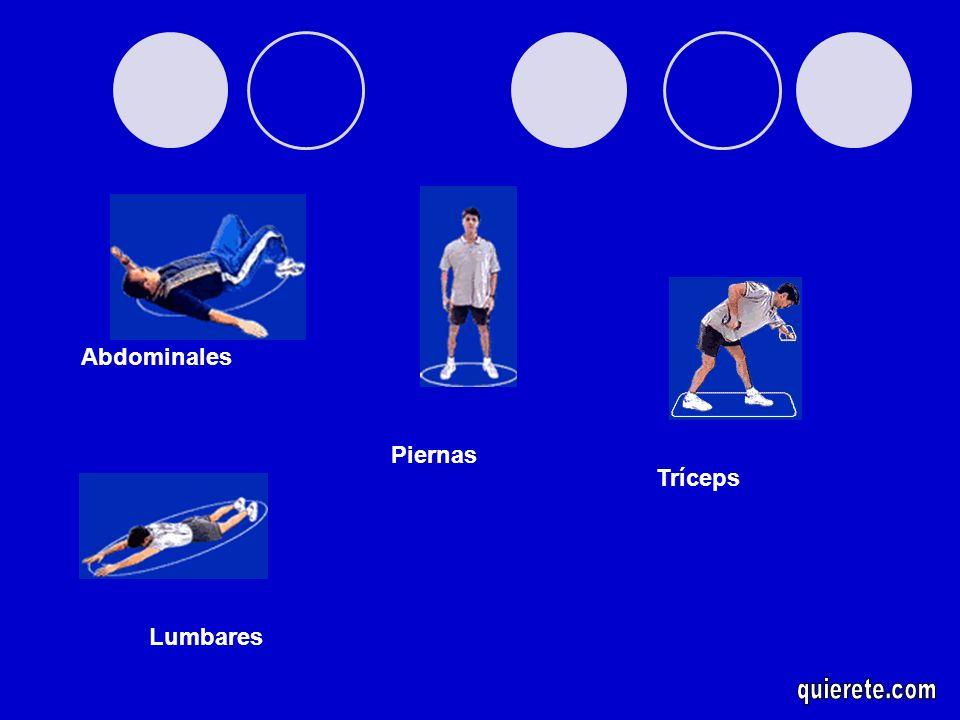 Abdominales Piernas Tríceps Lumbares quierete.com