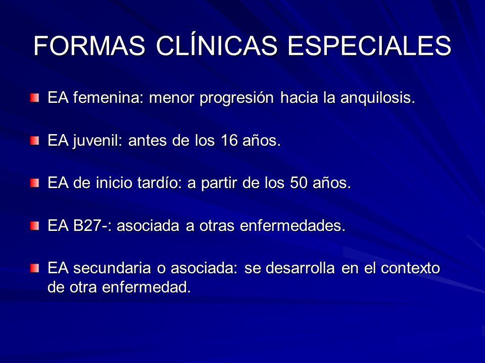 FORMAS CLÍNICAS ESPECIALES