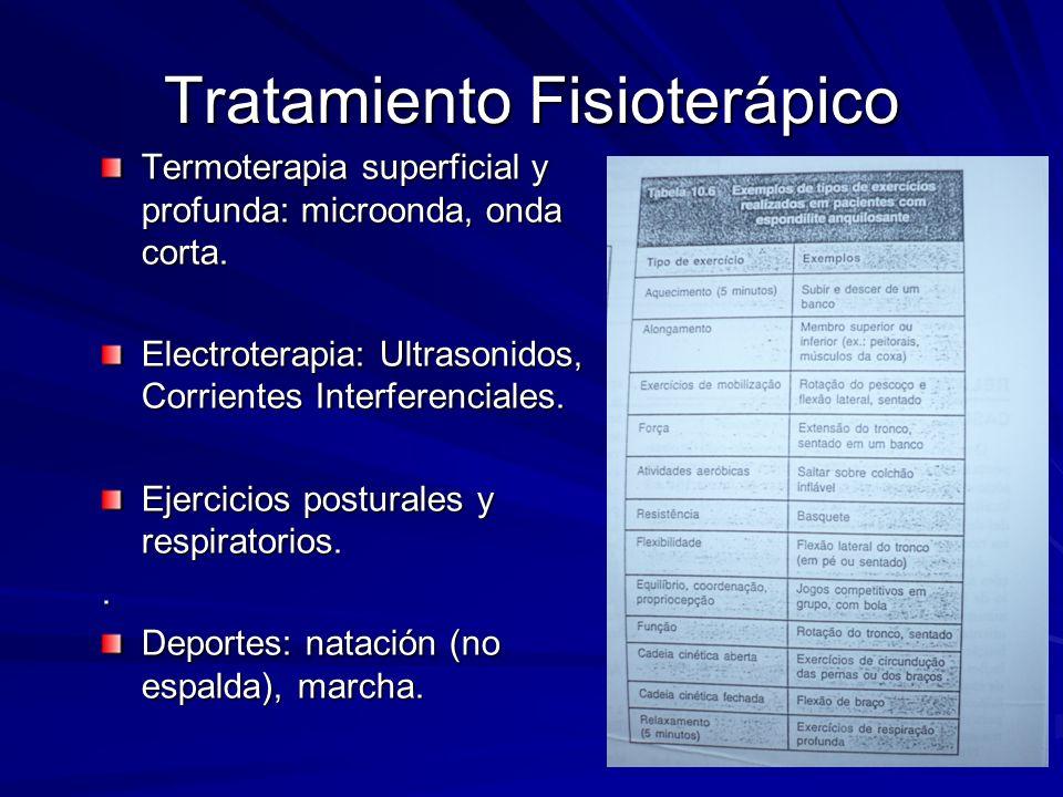 Tratamiento Fisioterápico