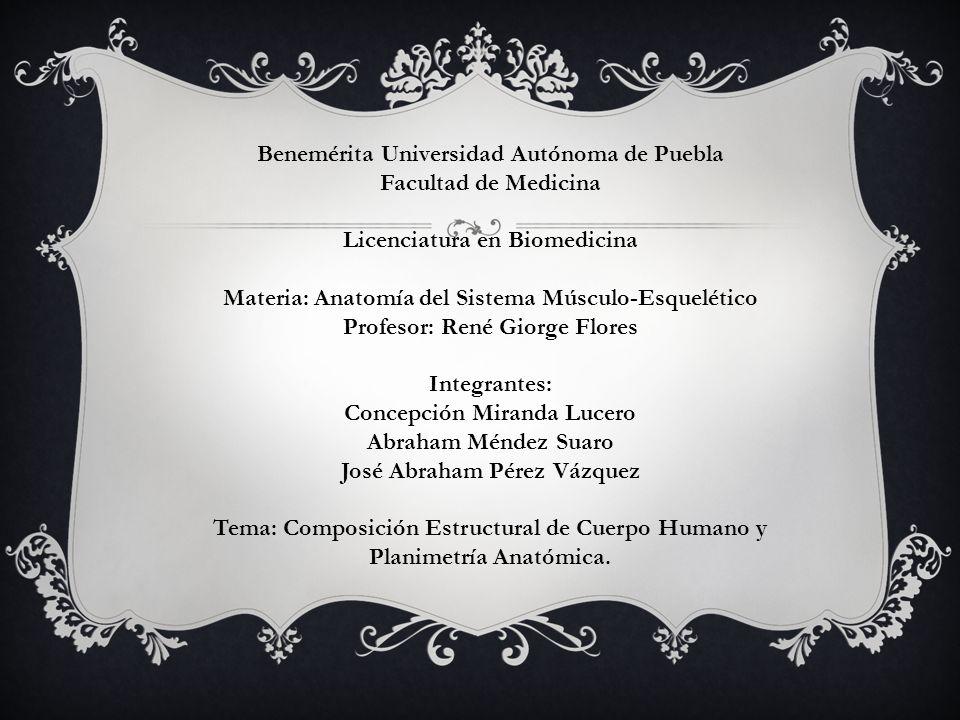 Benemérita Universidad Autónoma de Puebla Facultad de Medicina