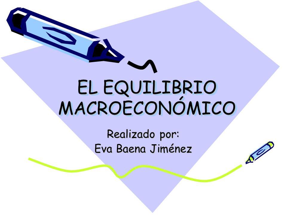 EL EQUILIBRIO MACROECONÓMICO
