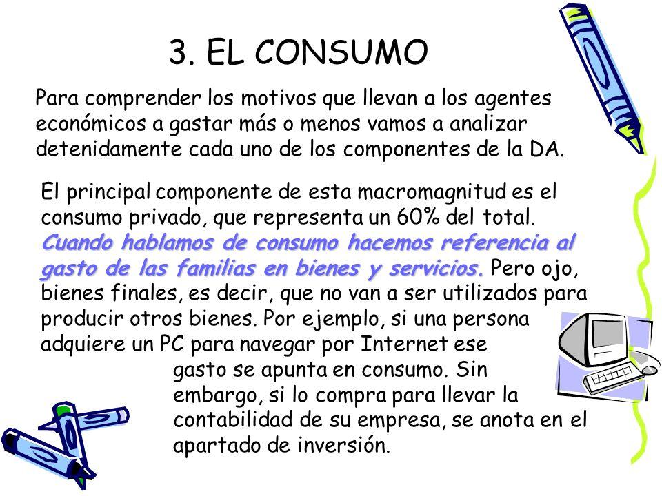 3. EL CONSUMO