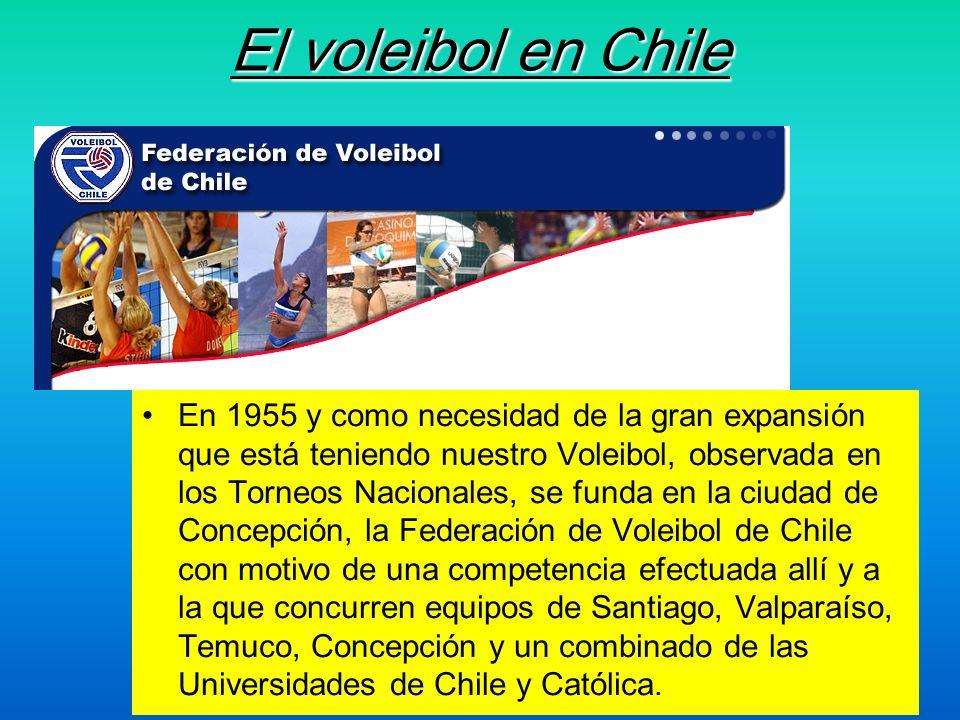 El voleibol en Chile