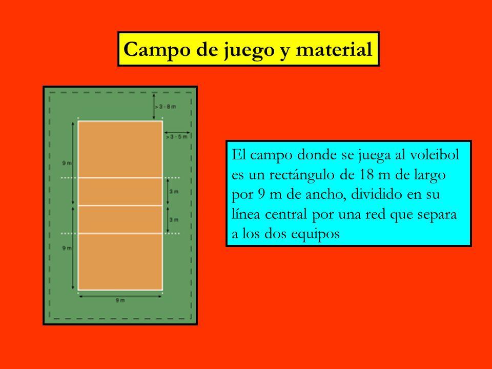 Campo de juego y material