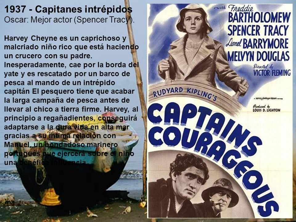 1937 - Capitanes intrépidos