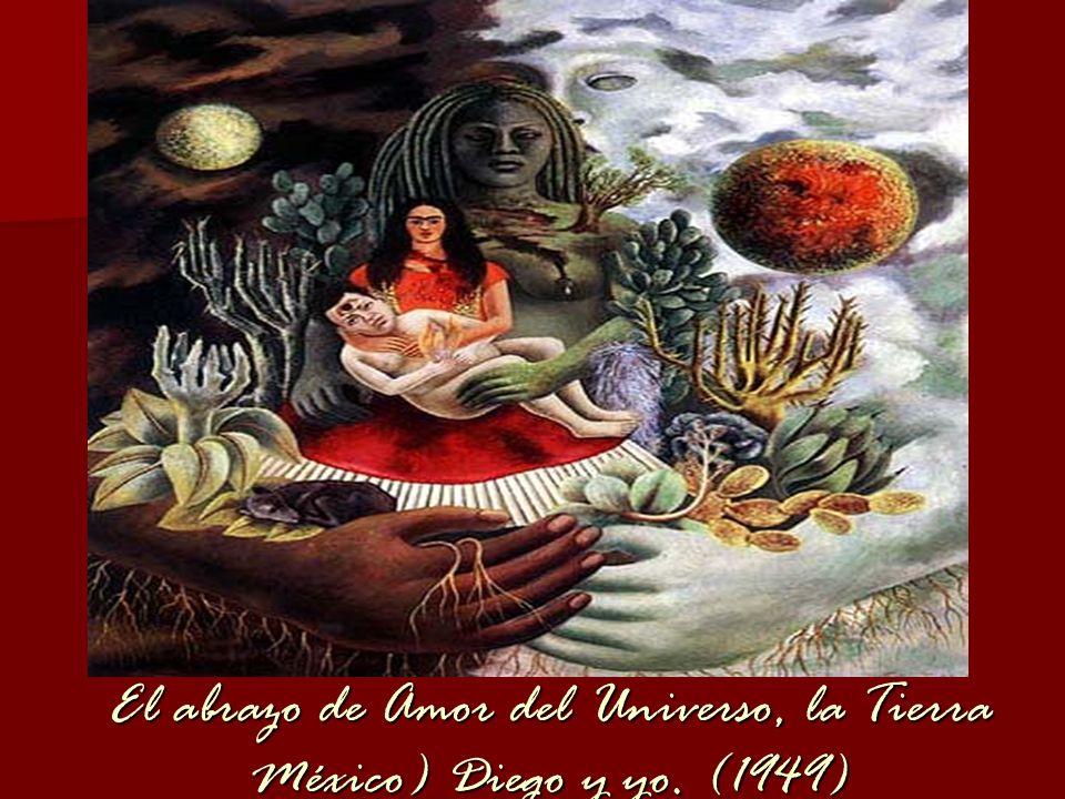 El abrazo de Amor del Universo, la Tierra México) Diego y yo. (1949)