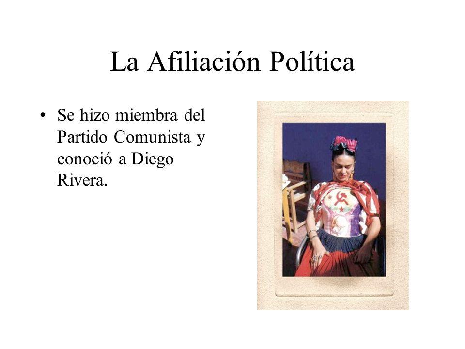La Afiliación Política