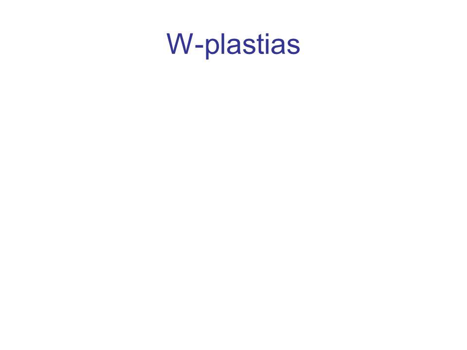 W-plastias