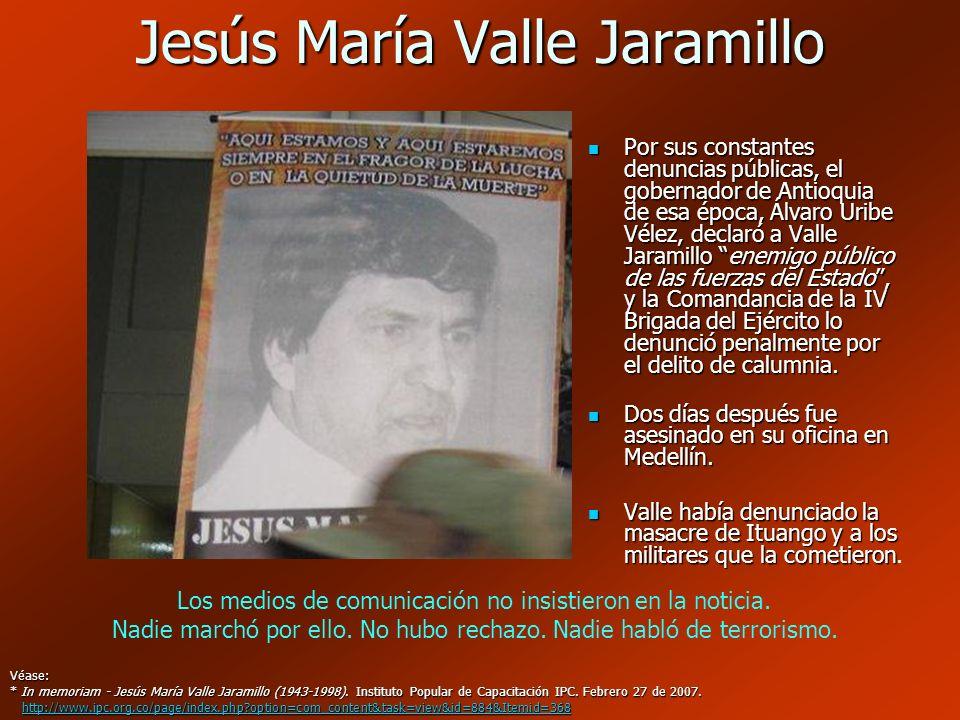Jesús María Valle Jaramillo