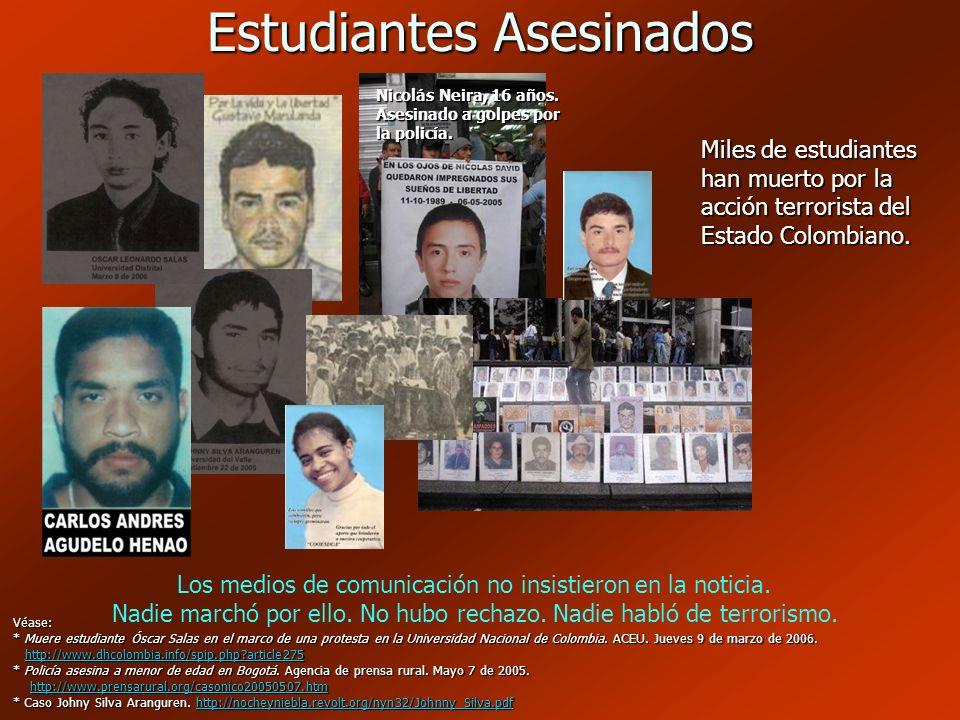 Estudiantes Asesinados
