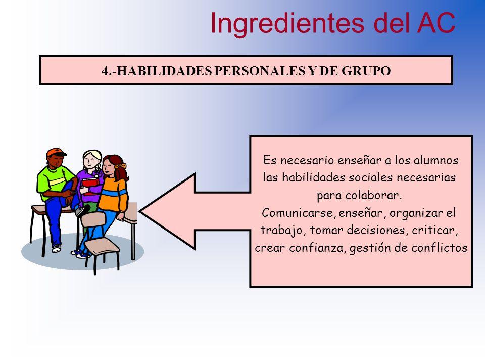 4.-HABILIDADES PERSONALES Y DE GRUPO
