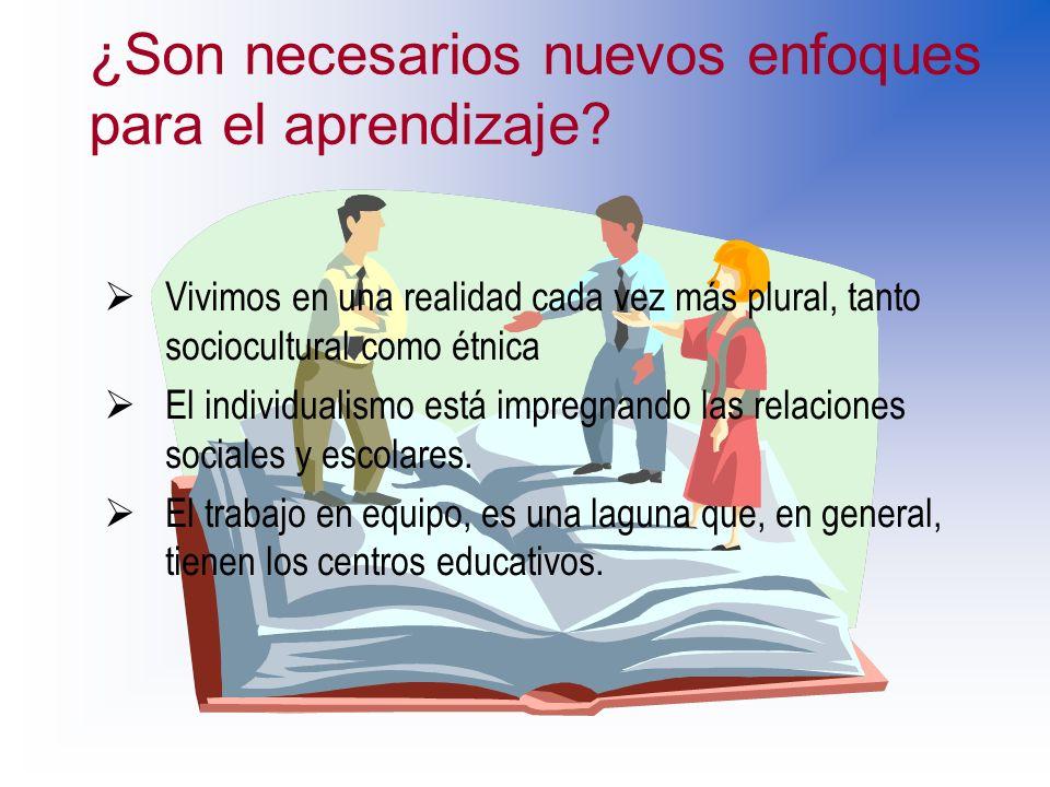 ¿Son necesarios nuevos enfoques para el aprendizaje