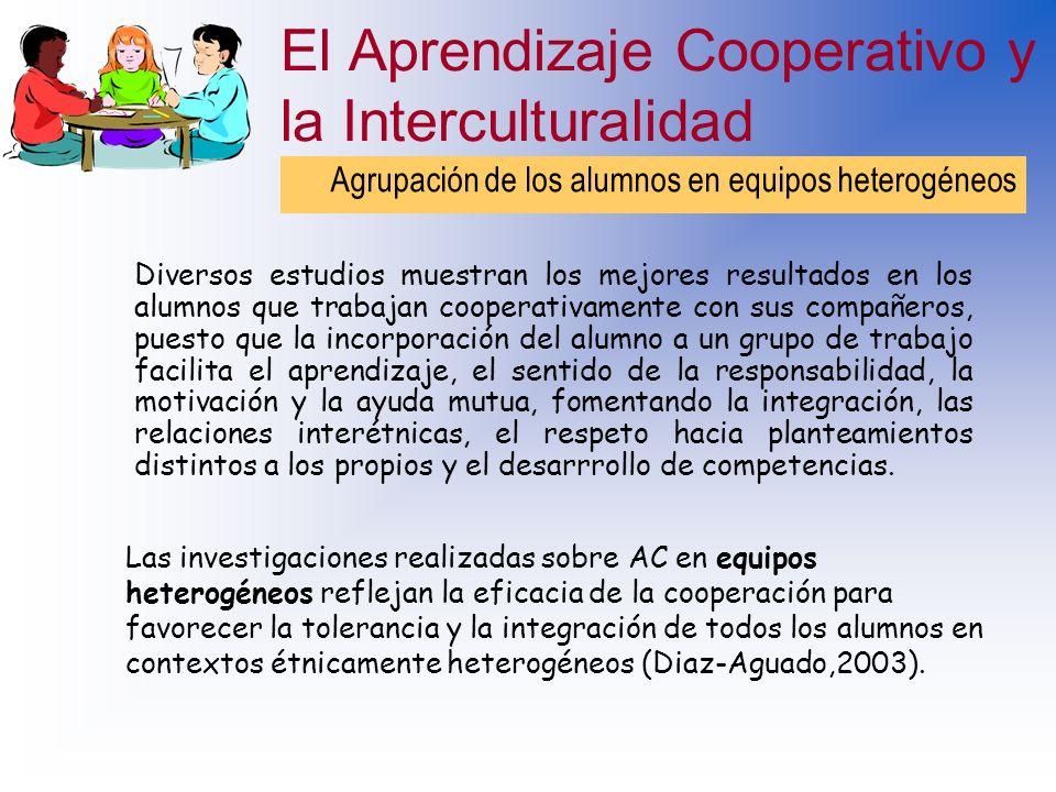 El Aprendizaje Cooperativo y la Interculturalidad