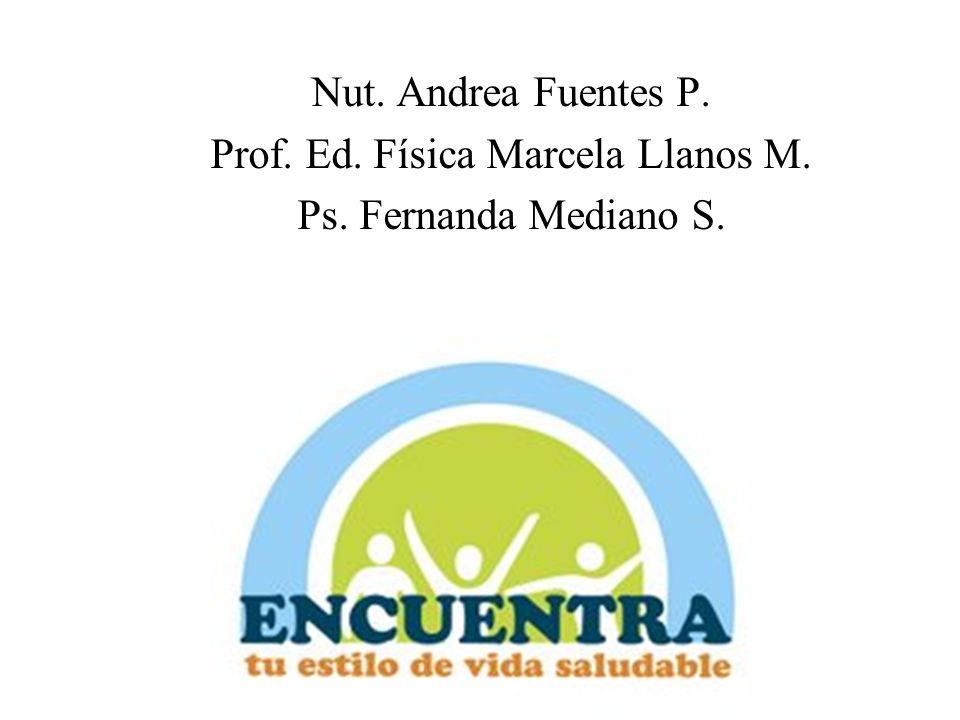 Prof. Ed. Física Marcela Llanos M.