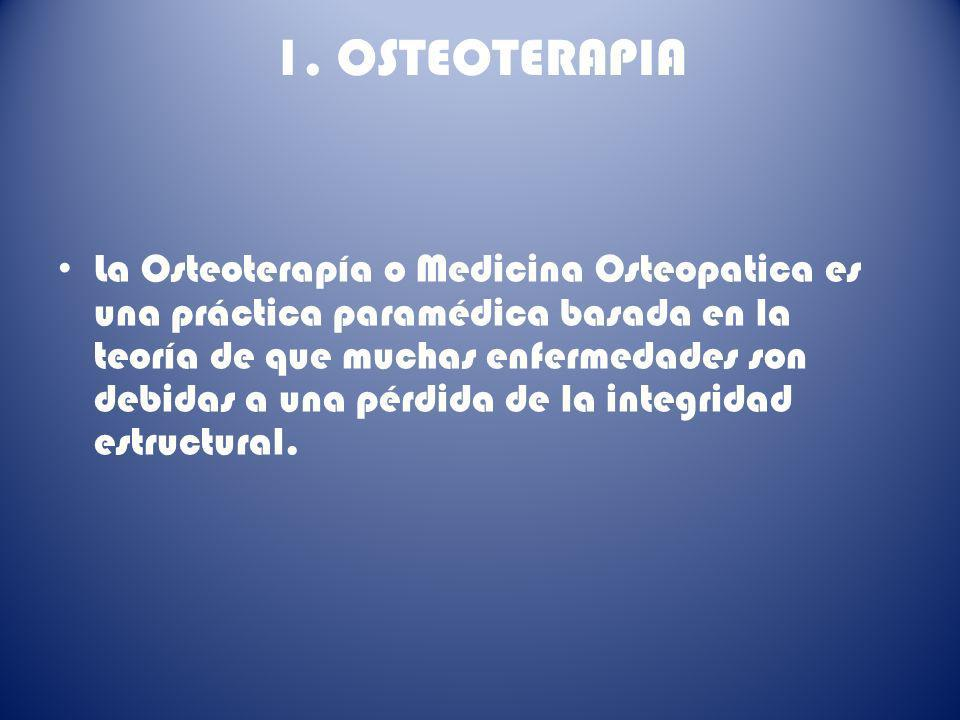 1. OSTEOTERAPIA