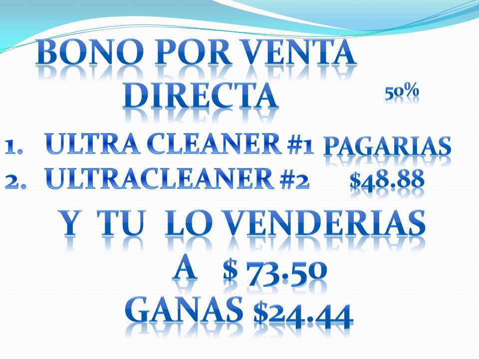 BONO POR VENTA DIRECTA Y TU LO VENDERIAS A $ 73.50 GANAS $24.44