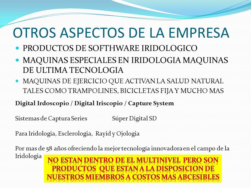 OTROS ASPECTOS DE LA EMPRESA