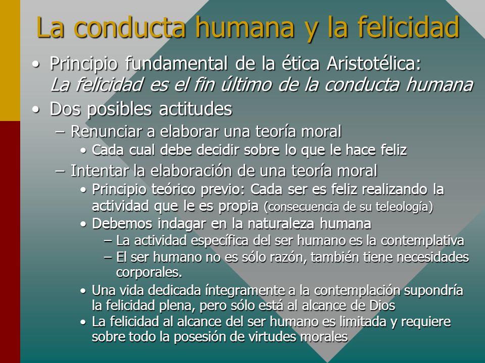 La conducta humana y la felicidad