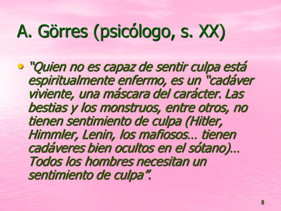 A. Görres (psicólogo, s. XX)
