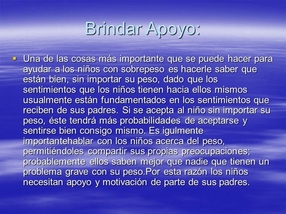 Brindar Apoyo: