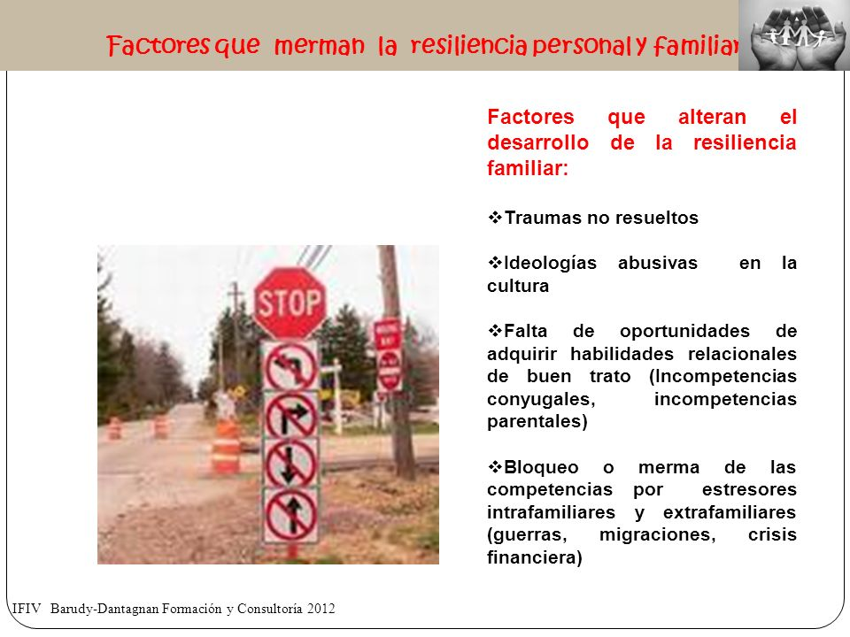 Factores que merman la resiliencia personal y familiar