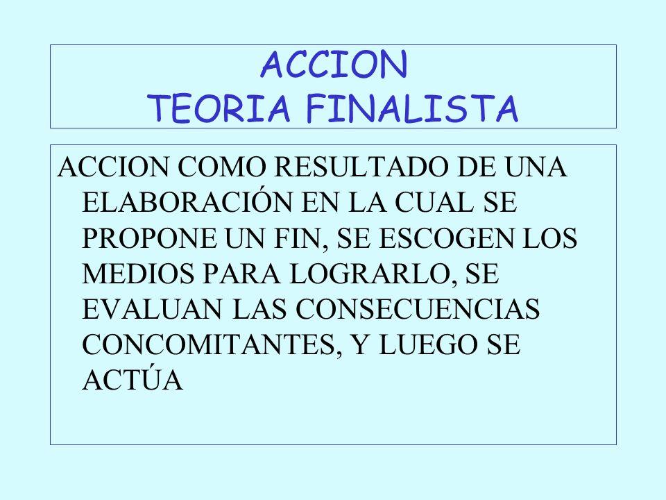 ACCION TEORIA FINALISTA