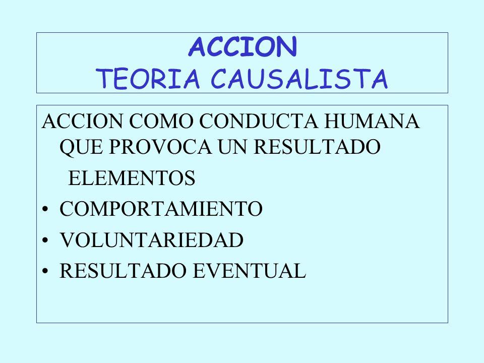 ACCION TEORIA CAUSALISTA