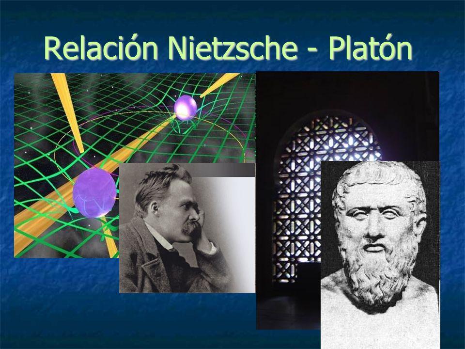 Relación Nietzsche - Platón
