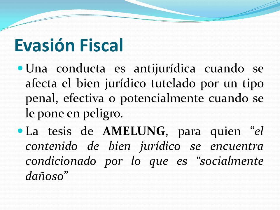 Evasión Fiscal