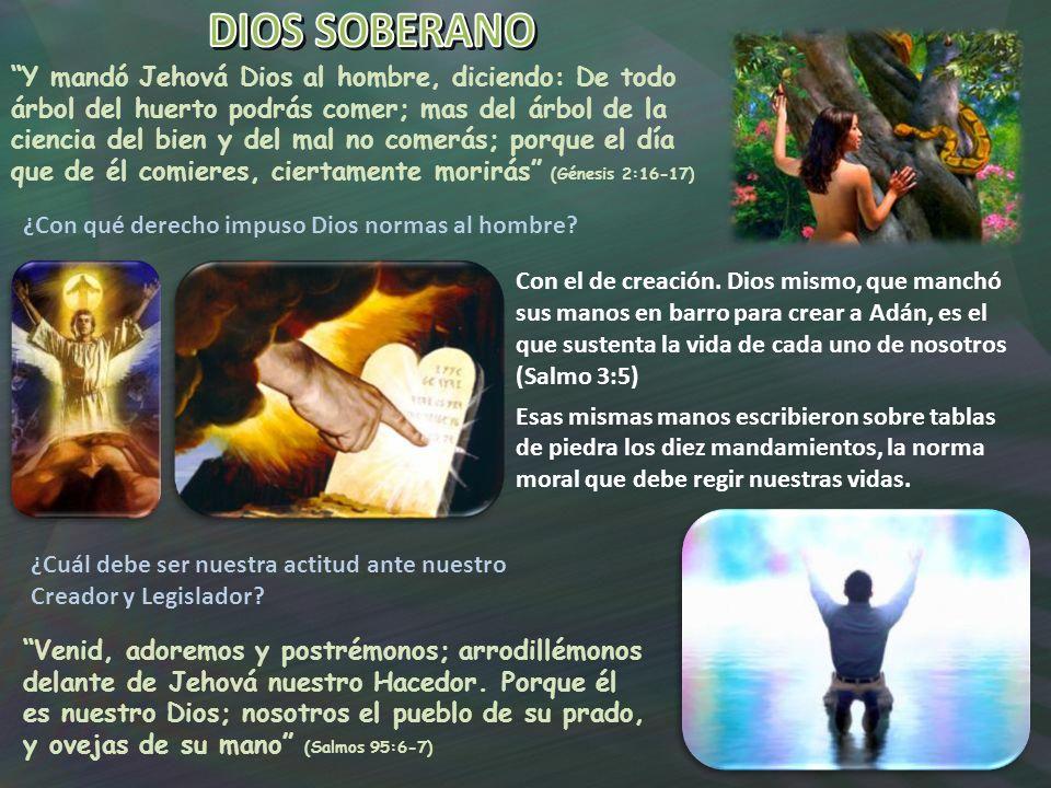 DIOS SOBERANO