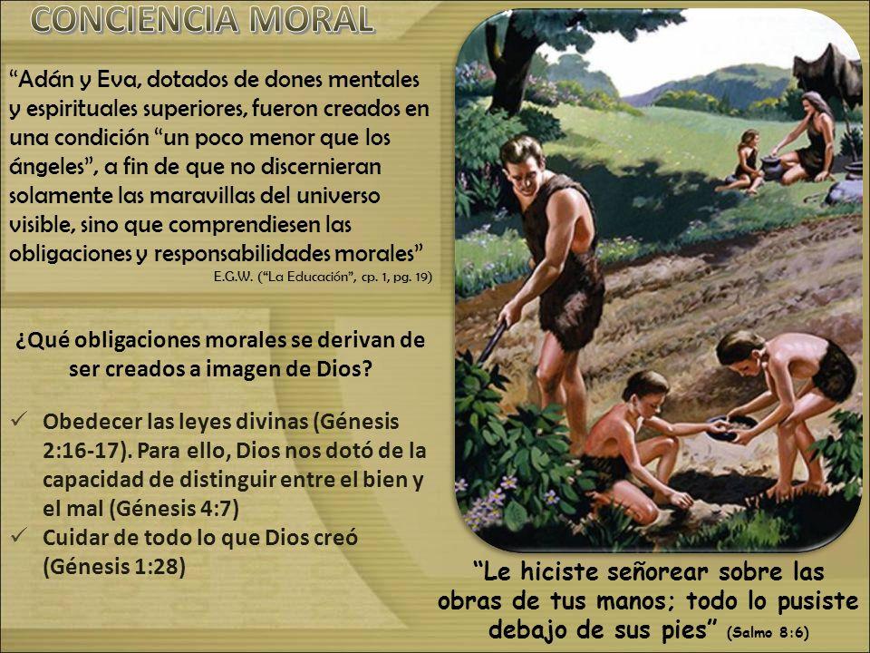 ¿Qué obligaciones morales se derivan de ser creados a imagen de Dios