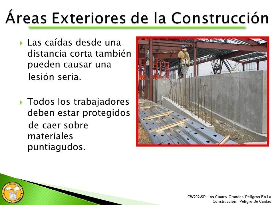 Áreas Exteriores de la Construcción