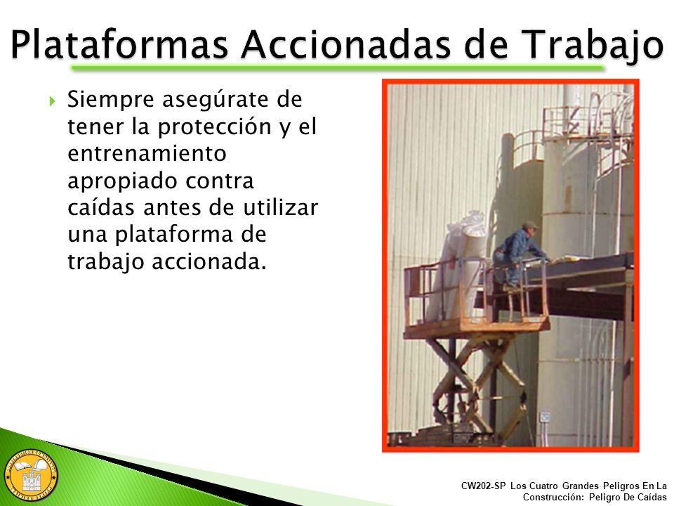 Plataformas Accionadas de Trabajo