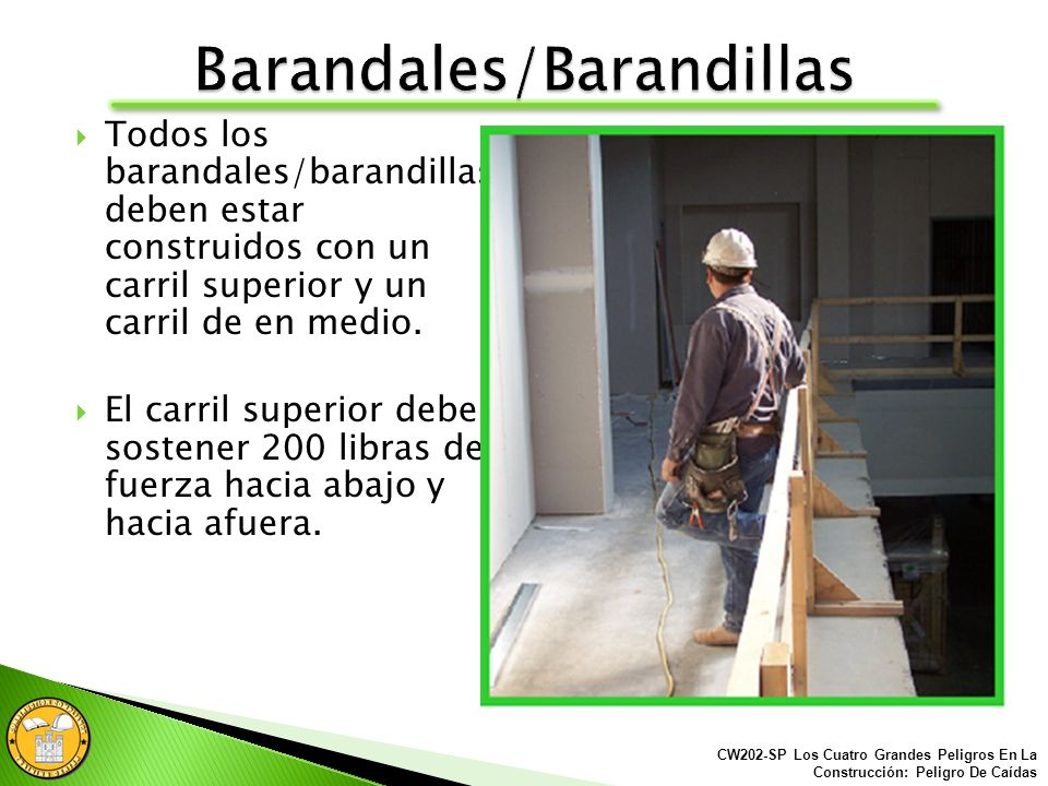 Barandales/Barandillas