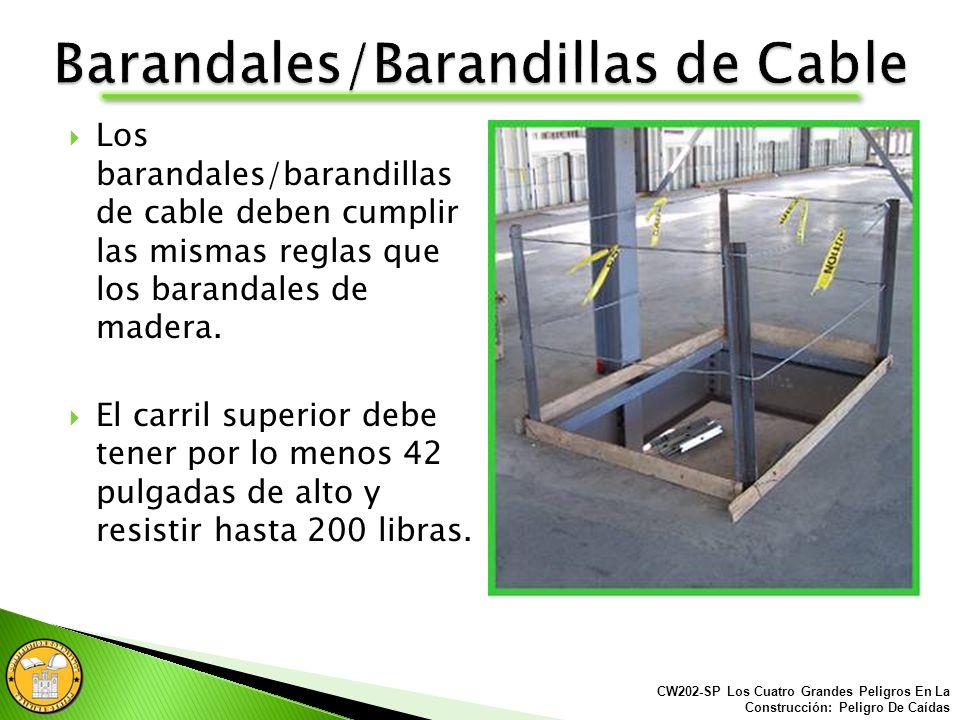 Barandales/Barandillas de Cable