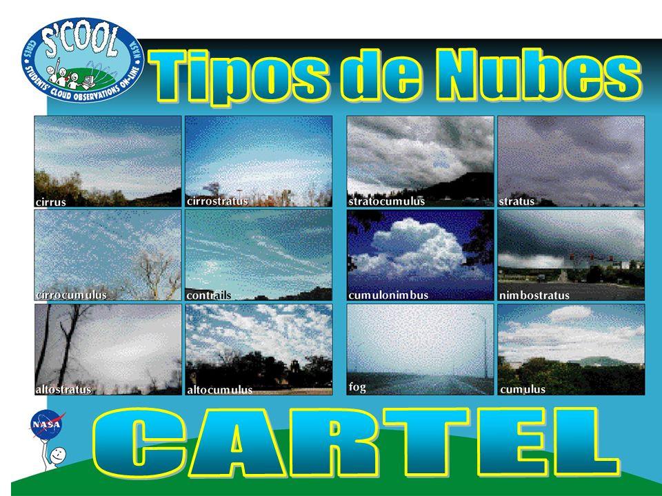 Tipos de Nubes CARTEL