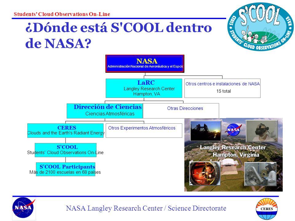 ¿Dónde está S COOL dentro de NASA