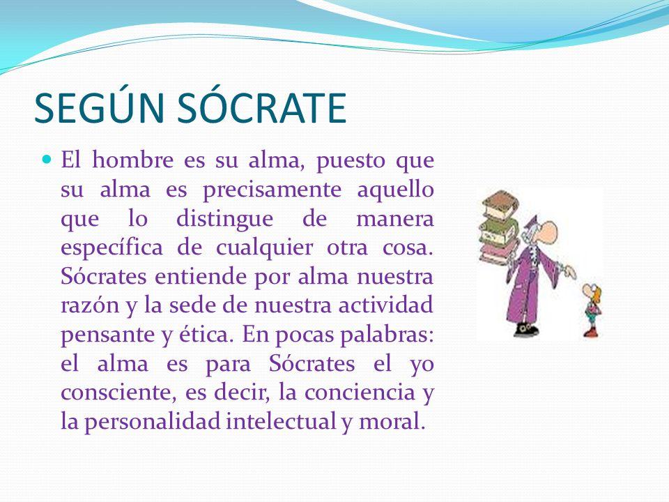SEGÚN SÓCRATE