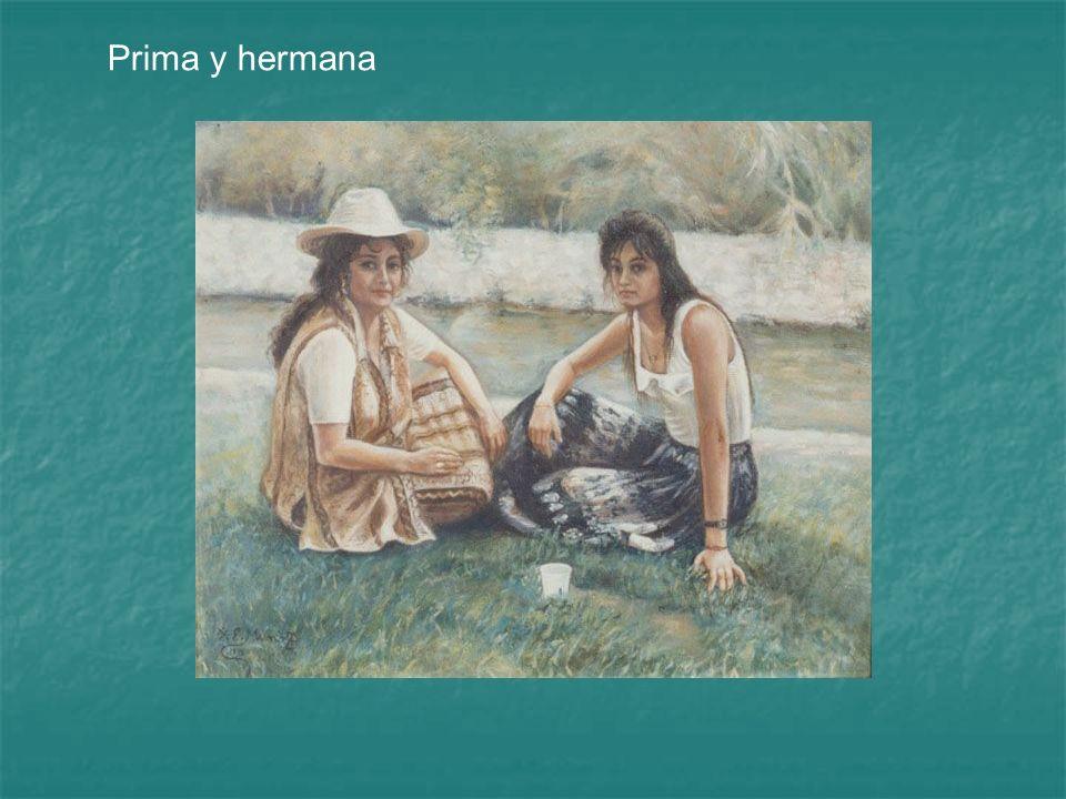 Prima y hermana