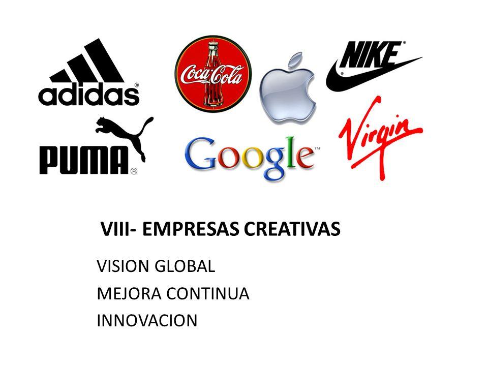 VIII- EMPRESAS CREATIVAS