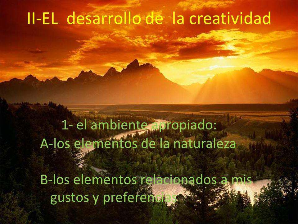 II-EL desarrollo de la creatividad