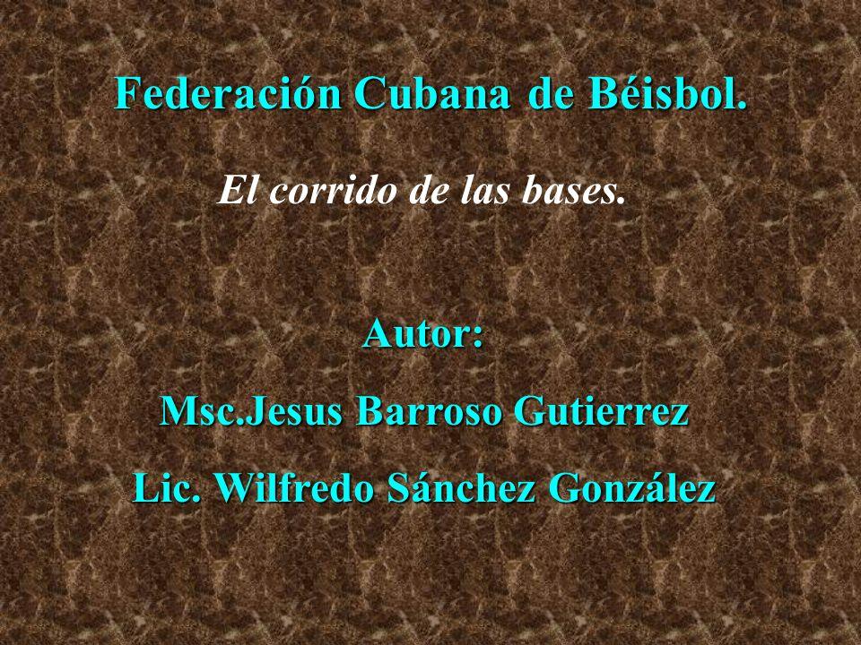 Federación Cubana de Béisbol.