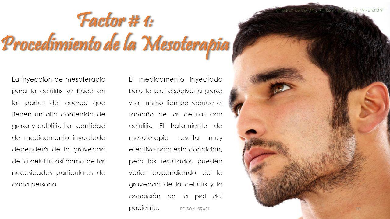 Procedimiento de la Mesoterapia