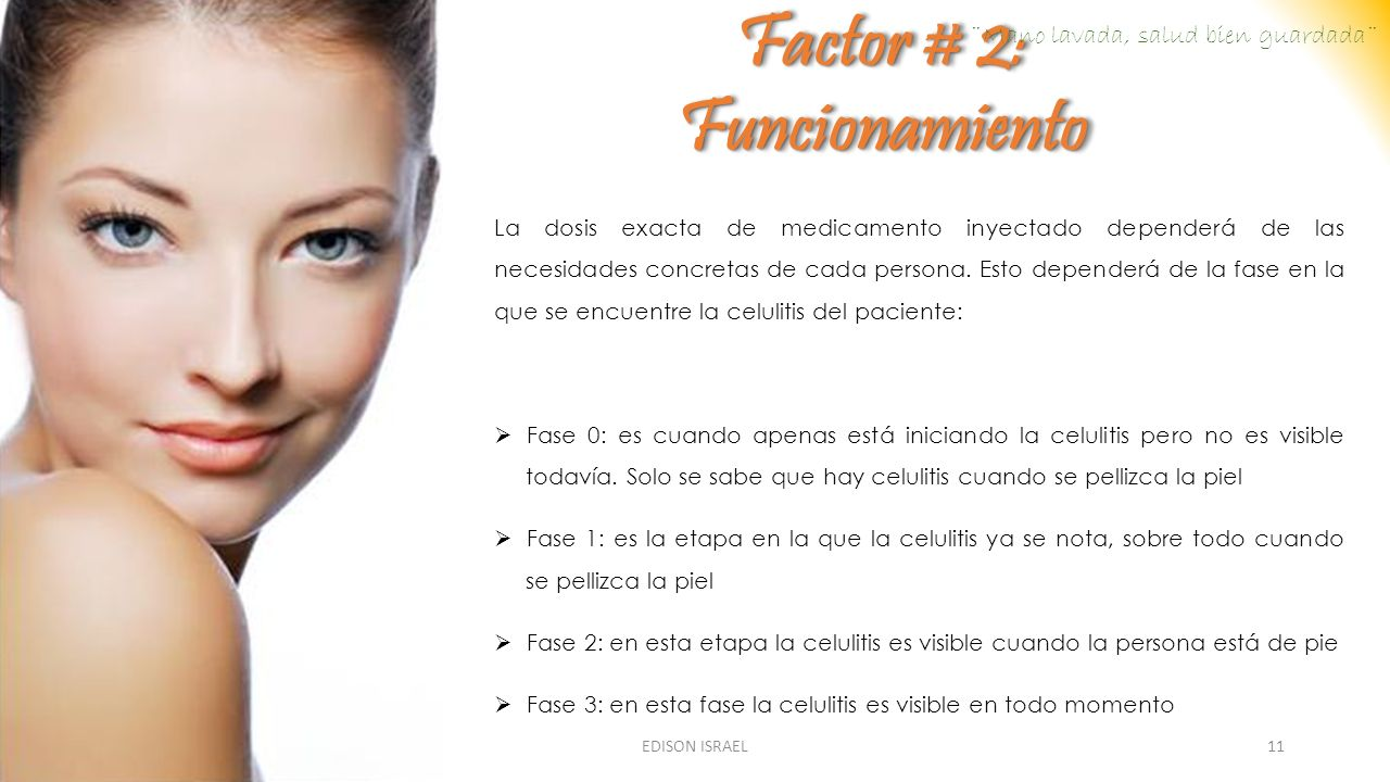 Factor # 2: Funcionamiento